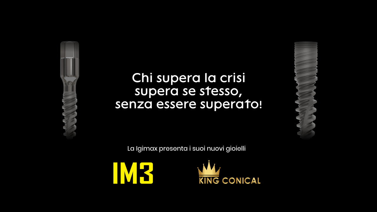 Igimax presenta IM3 e King conical